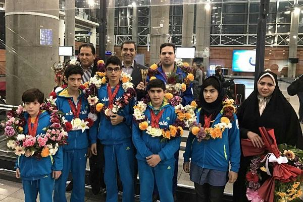 Photo of تیم شطرنج زیر ۱۴ ایران قهرمان آسیا شد
