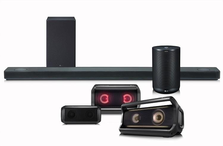 LG Speaker Lineup