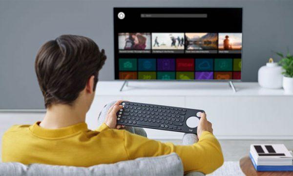 Photo of کیبورد لاجیتک K600 ؛ کیبوردی برای تلویزیون های هوشمند
