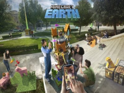بازی Minecraft Earth