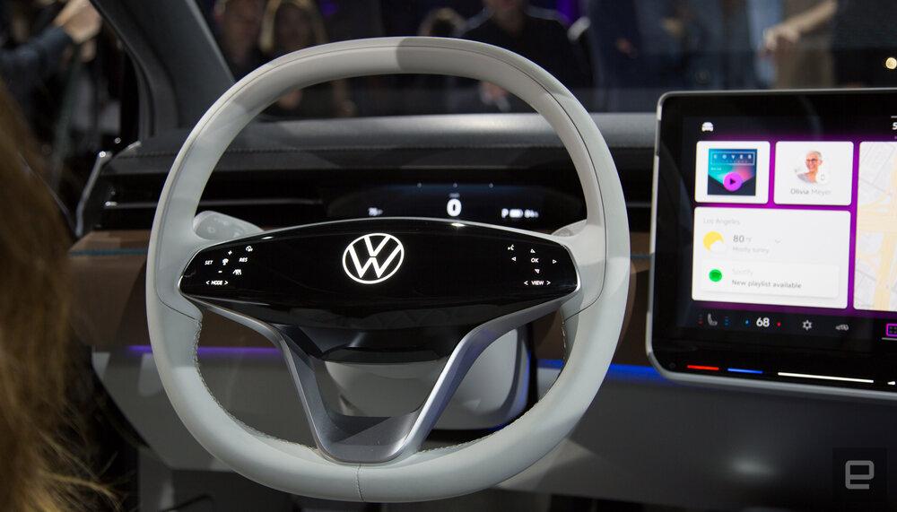 Photo of خودرو برقی فولکس واگن با طرحی تخیلی