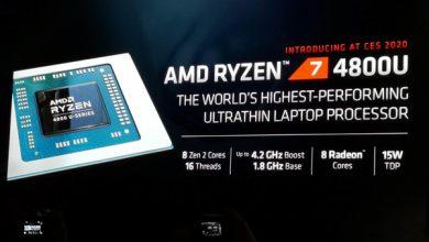 Photo of مایکروسافت سرفیس لپ تاپ جدید خود را با پردازنده Ryzen 7 4800U تست میکند